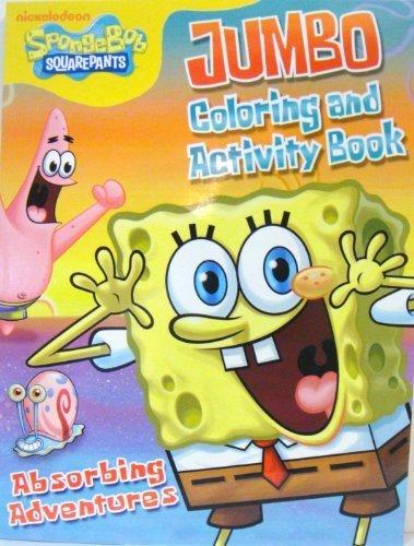 SPONGEBOB COLORING ACTIVITY BOOK d by Bendon Publishing