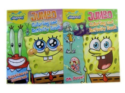 Spongebob Squarepants 2pc Coloring Activity Books - Spongebob Coloring Act by Bendon