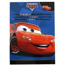 Cars Coloring Book - Disney Pixar Cars Tri-Lingual Jumbo Coloring And Activity Book 1 Book - Blue