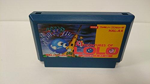 Adventures of Lolo Famicom Japanese NES Import
