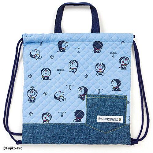Sanrio Doraemon quilting hand string purse Im DORAEMON coma From Japan New