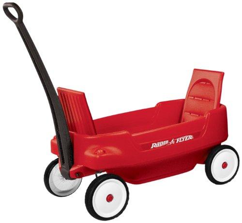 Radio Flyer Pathfinder Wagon Red