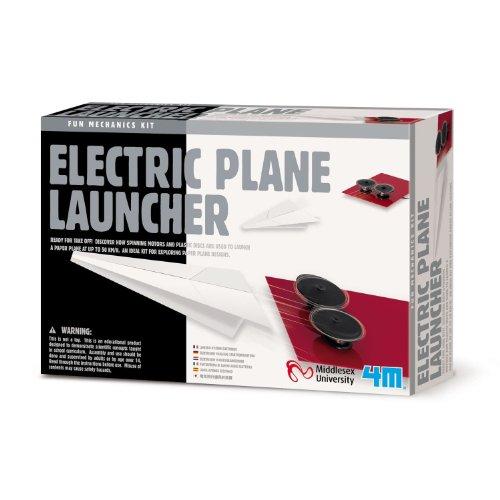 Electric Paper Plane Launcher - Includes Bonus Pop Toob