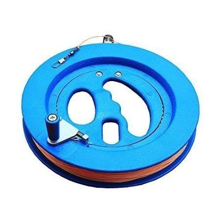Estore Professional Outdoor Kite Line Winder Winding Reel Grip Wheel with flying Line String Flying Tools w Lock Blue