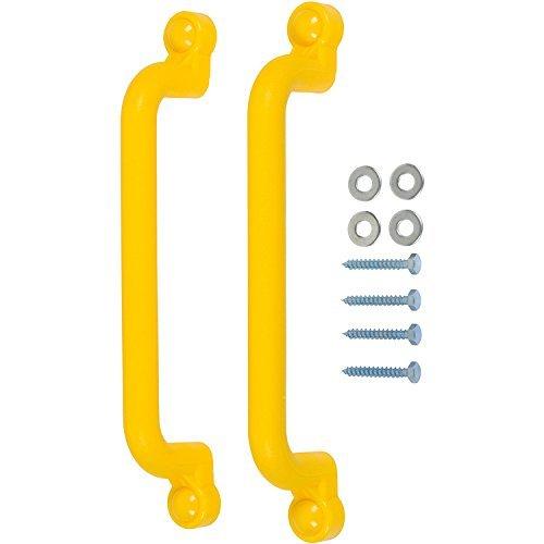 Swing Set Stuff 13 Playground Handles with SSS Logo Sticker Yellow by Swing Set Stuff Inc