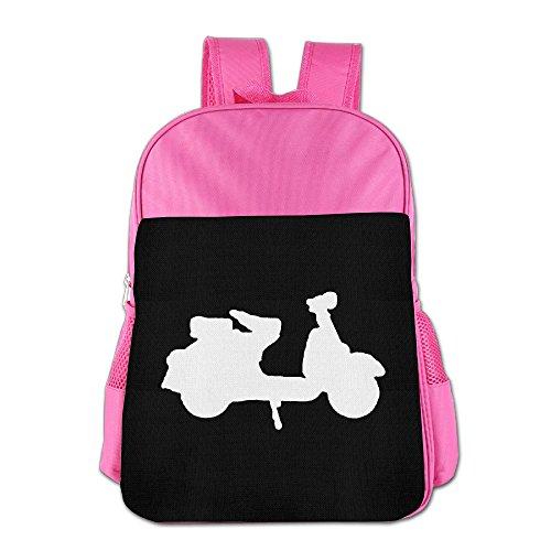 BoysGirls I Love Scooter ChildrenStudents School Backpack