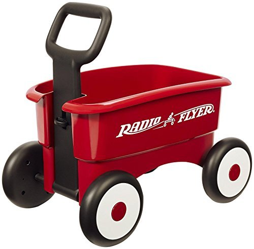 Radio Flyer My 1st 2-in-1 Wagon Ride On Red by Radio Flyer