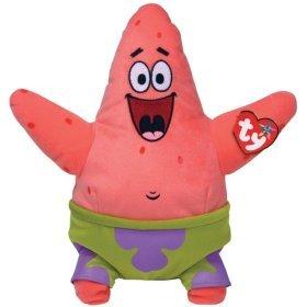 TY Beanie Babies Patrick Star Toy