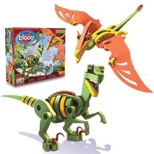 Bloco Toys Inc Velociraptor and Pterosaur