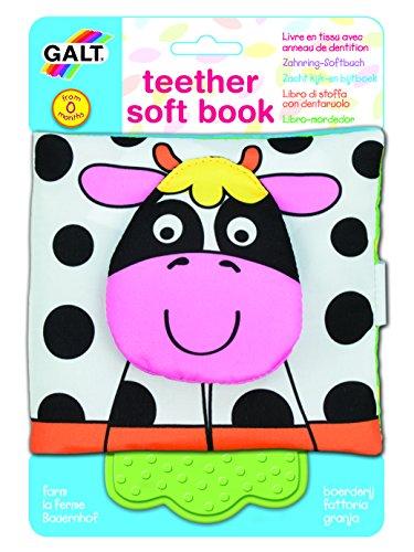 Galt Toys Inc First Years Farm Teether Soft Book