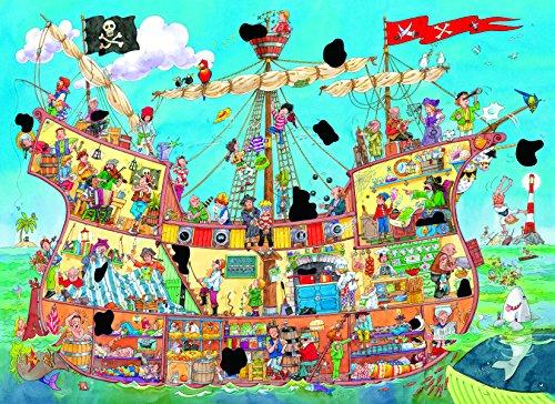 Galt Toys Inc Magic Pirate Ship Puzzle