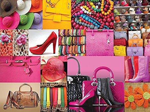 Collage Fashion Fun 1000 Piece Puzzle