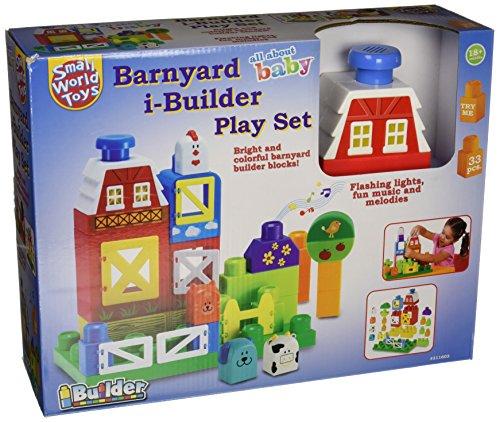 Small World Toys Barnyard i-Builder Play Set