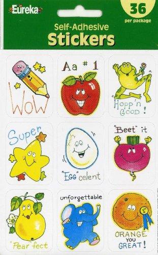 Eureka Motivational Self-adhesive Stickers Set of 36