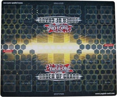 2012 Konami YuGiOh Order of Chaos 2-Player Duel Mat Yu-Gi-Oh Playmat Yu-Gi-Oh Trading Card Game