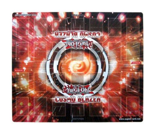 2013 Konami YuGiOh Cosmo Blazer 2-Player Promotional Playmat Duel Mat Yu-Gi-Oh Playmat Yu-Gi-Oh Trading Card Game