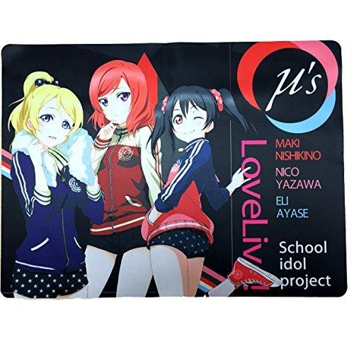 Love Live LoveLive ƒÊs card game play mat desk mat goods rubber mat Love live Yazawa Nico west Kino Mahime Ayase Eri