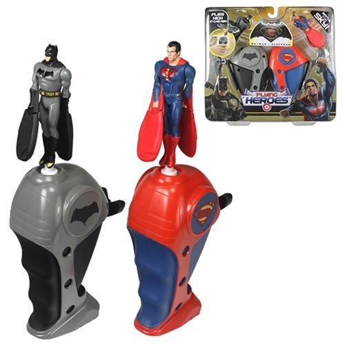 Flying Heroes Mini Batman Mini Superman Action Figure