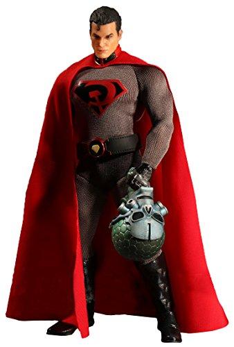 Mezco Toys DC Comics One-12 Collective Red Son Superman Action Figure
