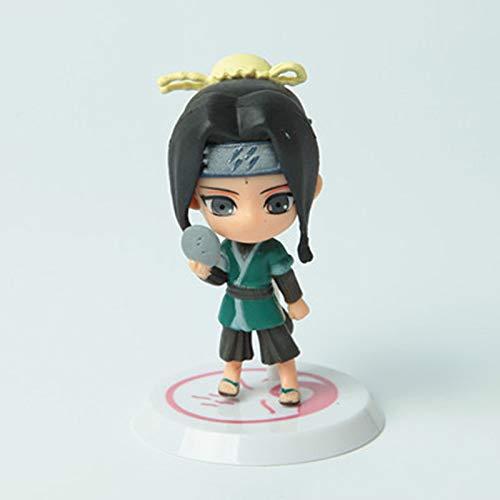 Fallhuoz Anime Naruto Action Figure Toys Q Version Sasuke Haruno Sakura Uchiha Itachi PVC Figures Model Collection Toy Wx170c
