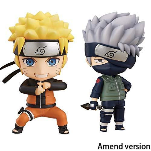 Lilongjiao Naruto Shippuden Uzumaki and Kakashi Nendoroid Action Figure