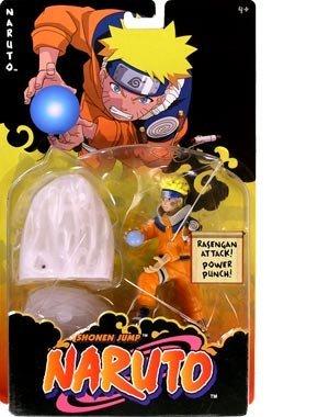 Naruto Deluxe  Naruto Rasengan Attack Action Figure