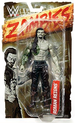 ROMAN REIGNS - WWE ZOMBIES 1 MATTEL TOY WRESTLING ZOMBIE ACTION FIGURE