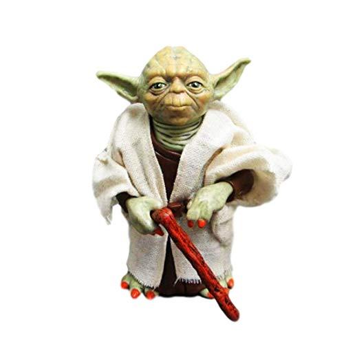 Hongzhi Craft 5 inch Yoda Jedi Master Action Figures Collection Clothing Velt Takeoff