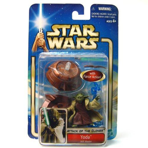 Star Wars AOTC Yoda Jedi Master Action Figure