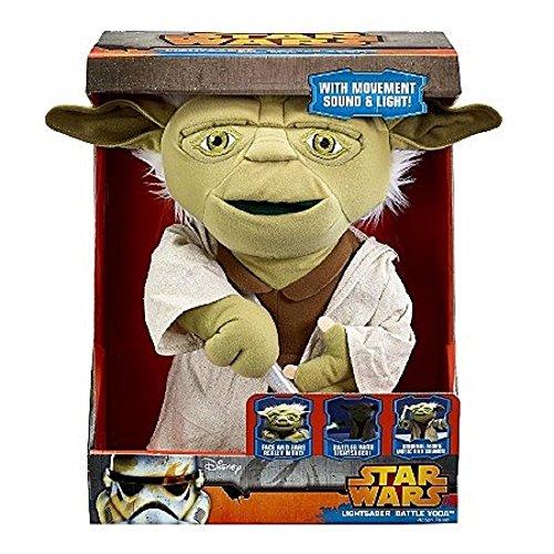 Underground Toys Star Wars 16 Battle Yoda Action Figure