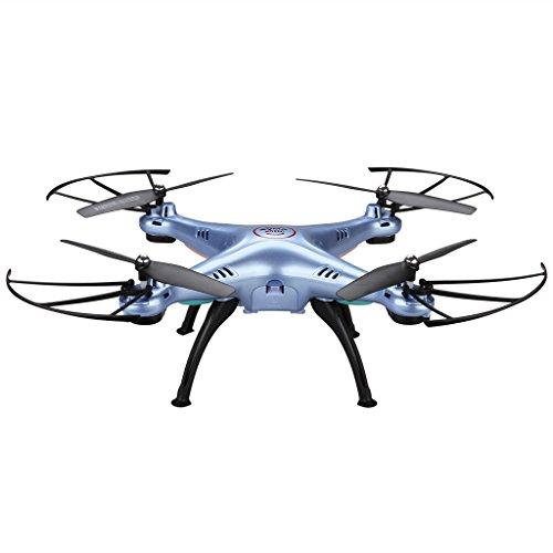 Syma X5HC 20MP HD Camera Barometer Altitude Hold RC Headless Quadcopter Drone Blue