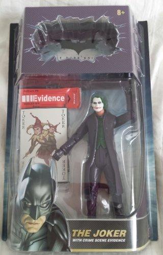 Dark Knight Action FiguresThe Joker with Crime Scene Evidence by Mattel