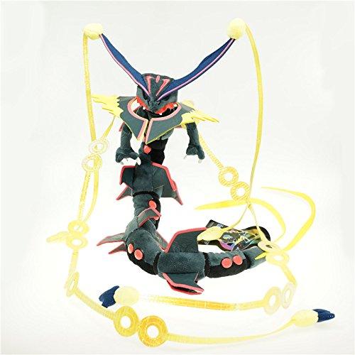 88cm 35 Shiny Pokemon Mega Rayquaza Plush Toy Stuffed Doll Figure by Cutepower