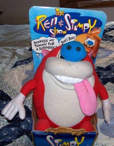 Ren Stimpy - Stimpy Rude Toot Doll Figure By Mattel