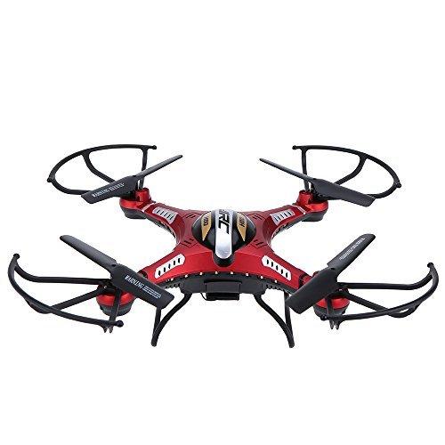 Original JJRC H8D 58G FPV RTF RC Quadcopter Headless ModeOne Key Return Drone with 20MP Camera FPV Monitor LCD 500mAh Lipo Battery