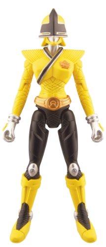 Power Rangers Samurai Action Figure Mega Ranger Earth Yellow 4 Inch