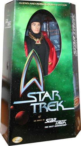 12 Q Star Trek The Next Generation  Aliens Adversaries Edition  Action Figure