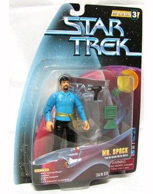 Mirror Mirror Universe Mr Spock with Goatee Beard Star Trek Warp Factor Series 3 Action Figure