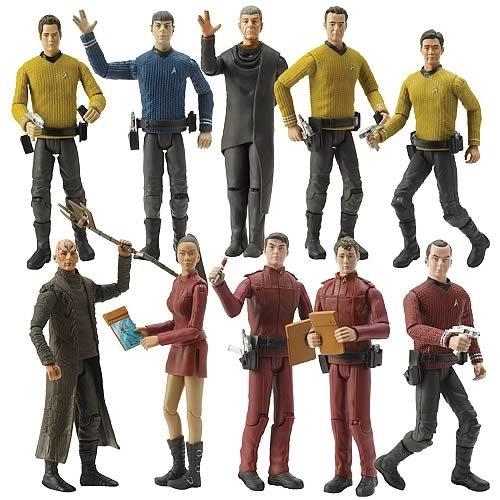 Star Trek Movie Warp Collection 6-Inch Complete Action Figure Set