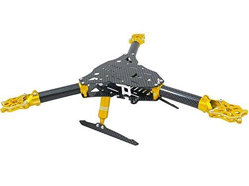 Rakon RKH Tricopter-Y CNC Kit 01 Gold 280RY981-Y