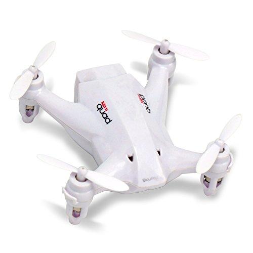 Dwi Dowellin RC Mini Drone Small Quadcopter Nano Quadrotor Pocket aircraft X165 White