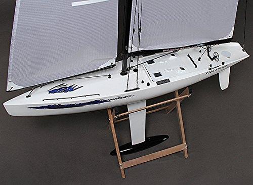 Fiberglass RC Yacht Sailboat Monsoon 900mm ARR