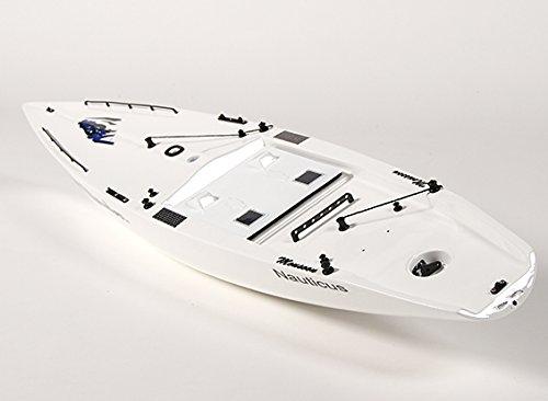 Fiberglass RC Yacht Sailboat Monsoon - Hull Includes Two Servos