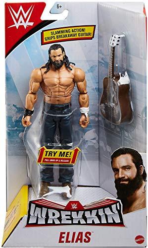 WWE Wrekkin 6-inch Action Figure with Wreckable Accessory Elias