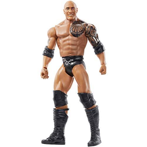 WWE Wrestlemania 6-inch 1524 cm Action Figure The Rock Multi