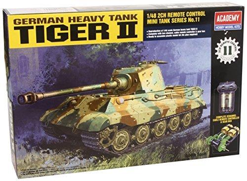 ACADEMY 148 scale Tank German Heavy Tank Tiger II ACA13304 by Academy Models