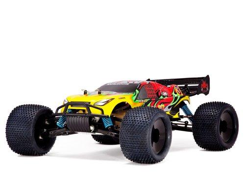 Redcat Racing Monsoon XTR Nitro Truggy RedYellow 18 Scale