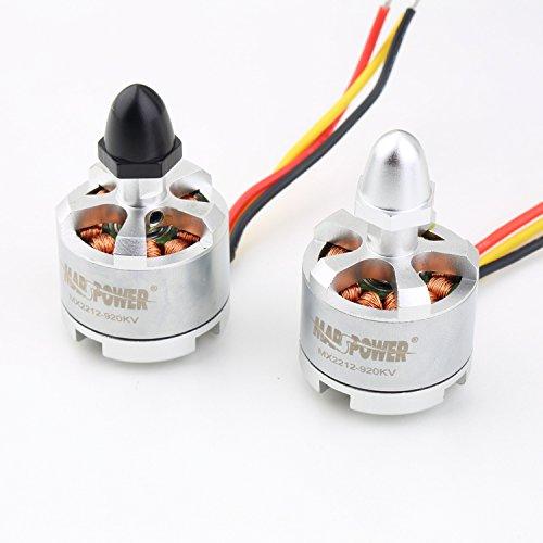 A Pair MX2212 KV920 MARS POWER Outrunner Brushless Motor for DJI Phantom F450 F500 F550