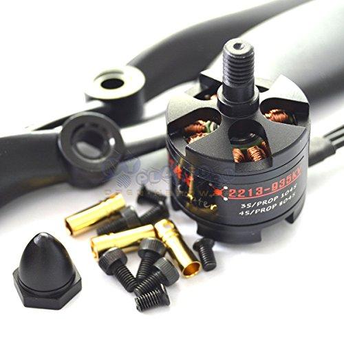 Eztronics Corp EMAX MT2213 935KV KV935 CW Outrunner Brushless Motor1045 Propeller CCW Thread
