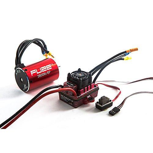 Fuze 110 6-pole 3800Kv WaterproofESC Motor Combo V2 SCT